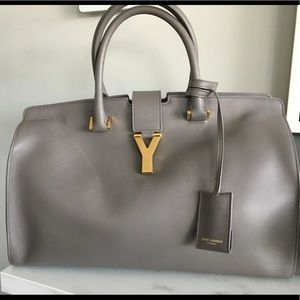 YSL cabas medium tote bag